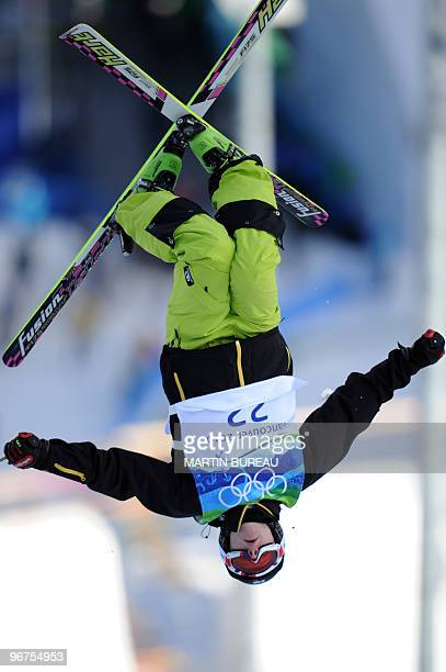 Arttu Kiramo of Finland competes during the qualifications of the Freestyle men moguls event on February 14 2010 at Cypress Mountain venue in...