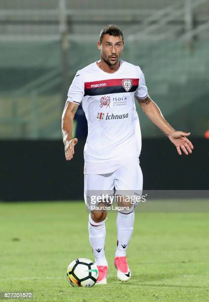 Artur Ionita of Cagliari during the PreSeason Friendly match between FC Crotone and Cagliari Calcio at Stadio Comunale Ezio Scida on August 5 2017 in...