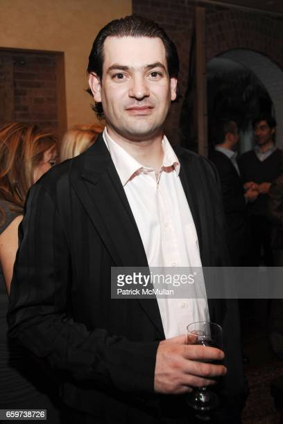 Artur Moreira attends ARTRAGEOUS 8th Annual Kick Off Party at Home of Henry Buhl on March 10 2009 in New York City