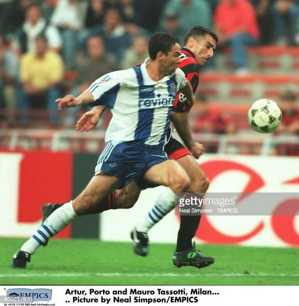 Artur Porto and Mauro Tassotti Milan