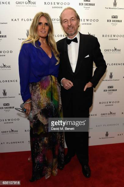 Arturo Artom and Tiziana Rocca attend as The Weinstein Company Entertainment Film Distributors and STUDIOCANAL celebrate the 2017 BAFTA after party...