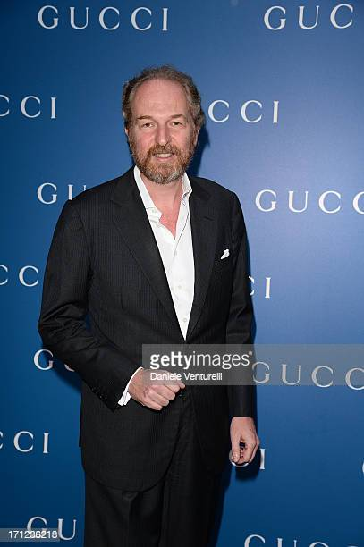 Arturo Artom attends Gucci Men's Flagship Store Opening and Launch of Gucci Made to Measure Capsule Collection 'Lapo's Wardrobe' on June 23 2013 in...