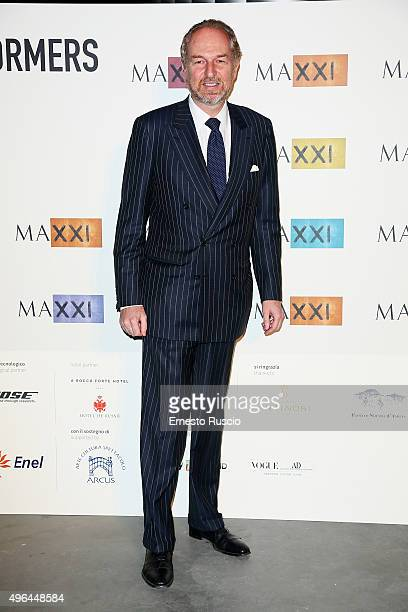Arturo Artom attends the MAXXI Acquisition Gala Dinner at Maxxi Museum on November 9 2015 in Rome Italy