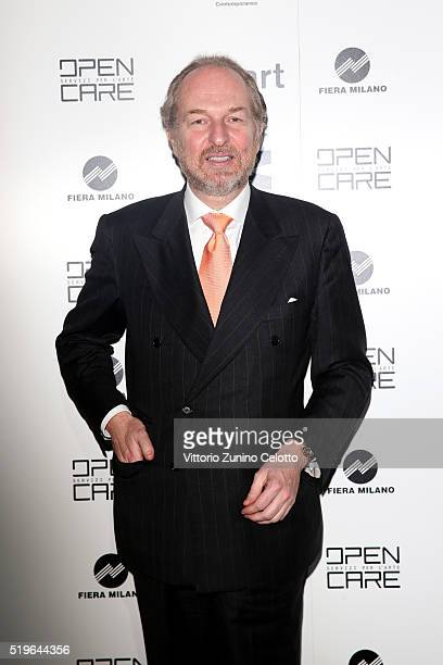 Arturo Artom attends the Miart dinner party for the Opening of Miart 2016 at Palazzo Del Ghiaccio on April 7 2016 in Milan Italy