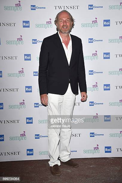 Arturo Artom attends the 'Per sempre' Screening and Party Hosted By Twin Set during the 73rd Venice Film Festival at on September 4 2016 in Venice...