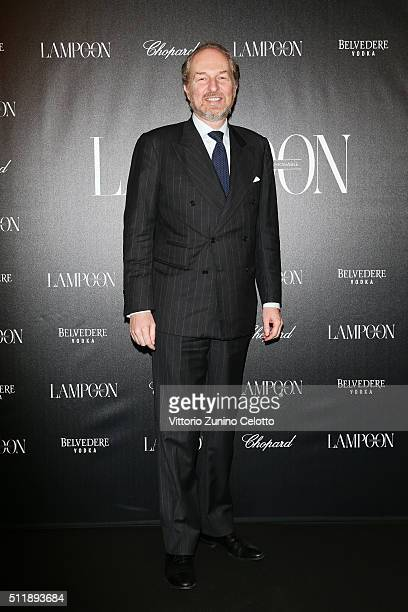 Arturo Artom attends #THE ROYAL PUNK Party By Lampoon on February 23 2016 in Milan Italy