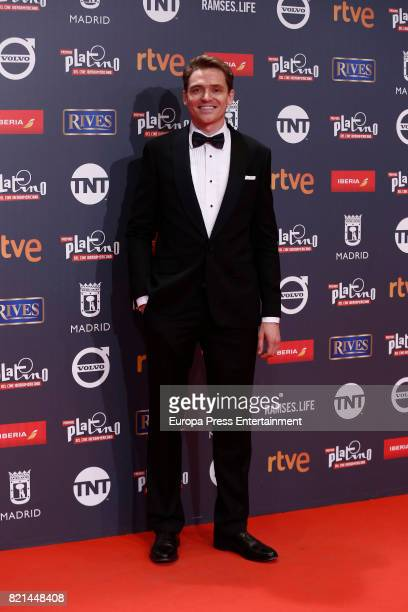 Arturo Cardelus attends Platino Awards 2017 at La Caja Magica on July 22 2017 in Madrid Spain