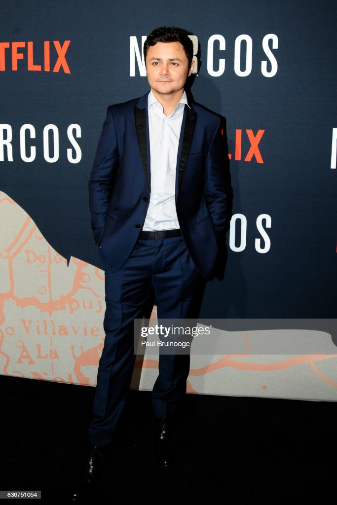Arturo Castro attends 'Narcos' Season 3 New York Screening - Arrivals at AMC Lincoln Square 13 Theater on August 21, 2017 in New York City.