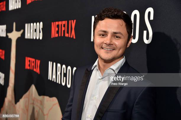 Arturo Castro attends the 'Narcos' Season 3 New York Screening at AMC Loews Lincoln Square 13 theater on August 21 2017 in New York City