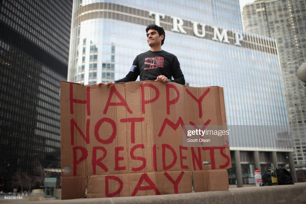 Today in Trump Protests...