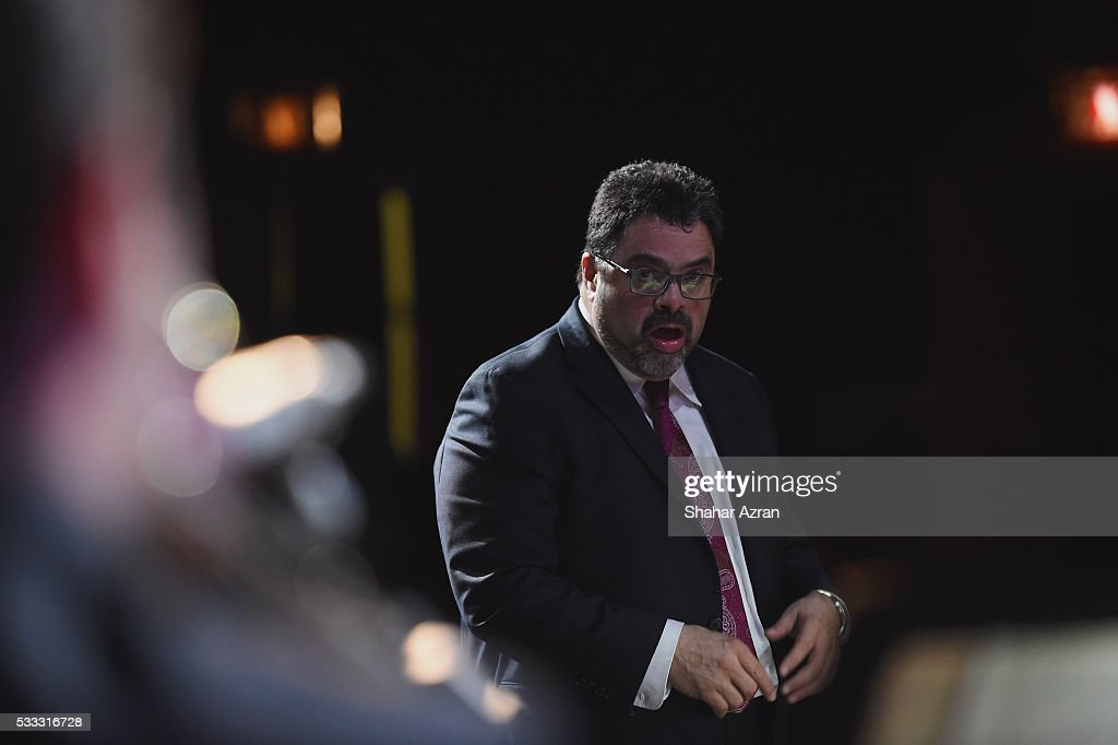 <a gi-track='captionPersonalityLinkClicked' href=/galleries/search?phrase=Arturo+O%27Farrill&family=editorial&specificpeople=6649010 ng-click='$event.stopPropagation()'>Arturo O'Farrill</a> at The Apollo Theater on May 21, 2016 in New York City.