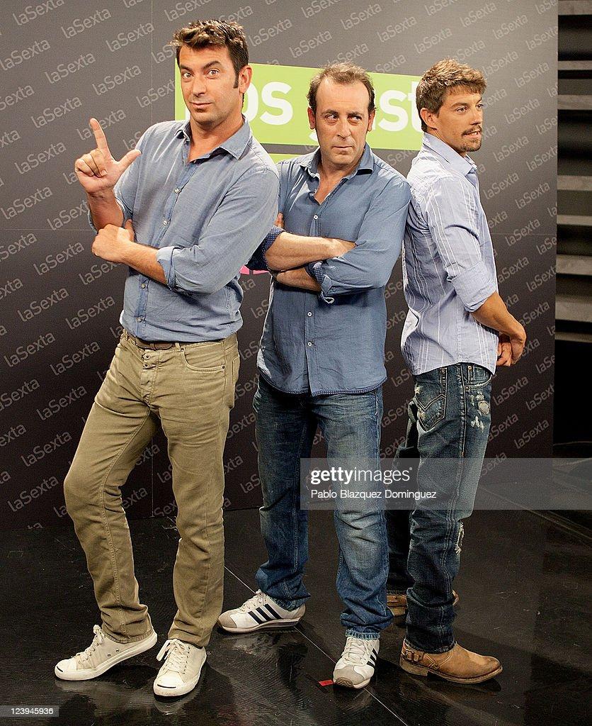 ¿Cuánto mide Antonio Molero? Arturo-valls-antonio-molero-and-adrian-lastra-pose-for-photographers-picture-id123945936