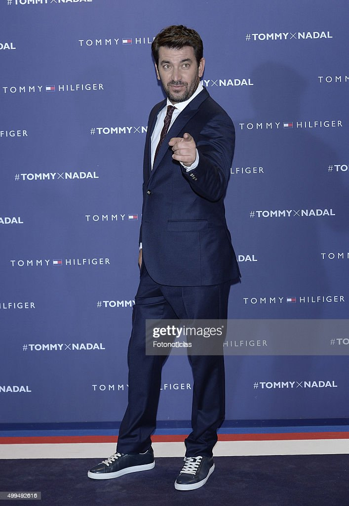 Rafael Nadal Ambassador of Tommy Hilfiger in Madrid