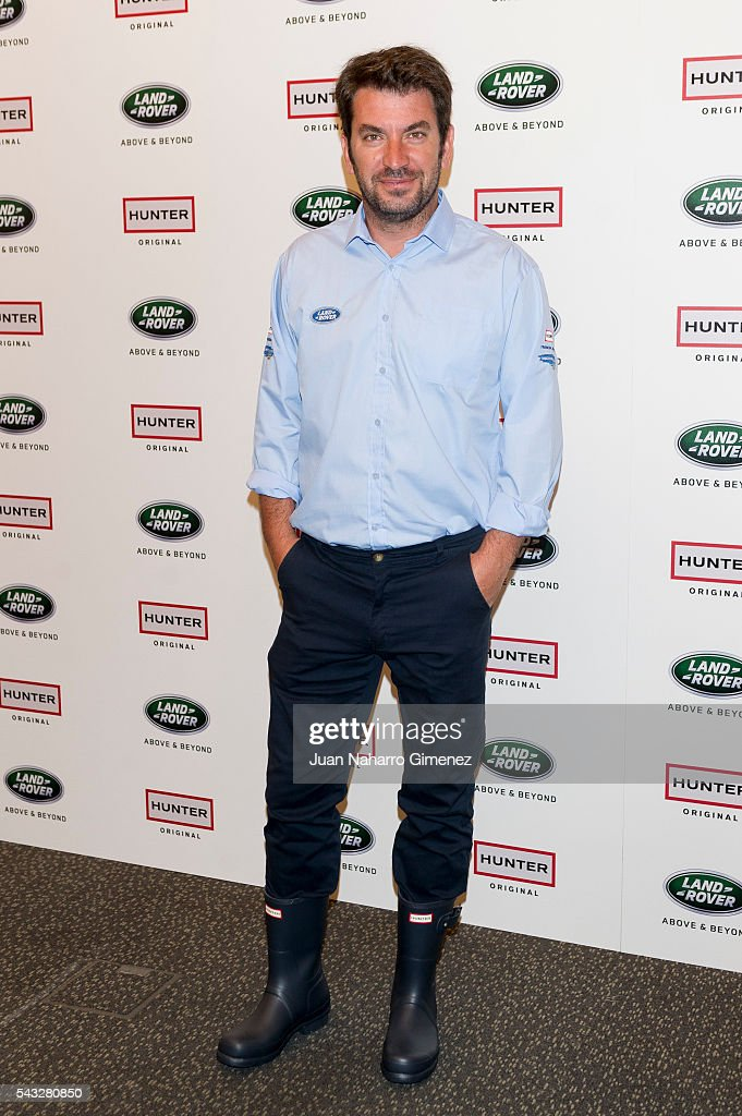 Arturo Vals attends 'VII Land Discovery Challenge' photocall at Ilunion Hotel on June 27, 2016 in Madrid, Spain.