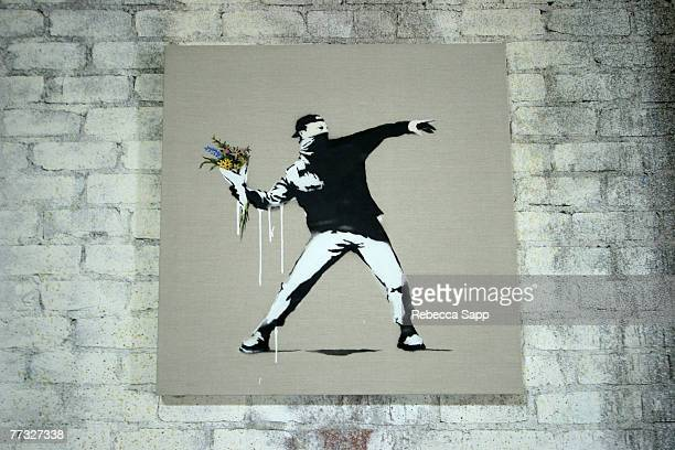 Artwork by Banksy