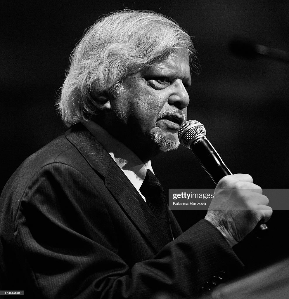 Arun Gandhi speaks during The Nelson Mandela Legacy Of Hope Foundation Event at Gotham Hall on July 18, 2013 in New York City.