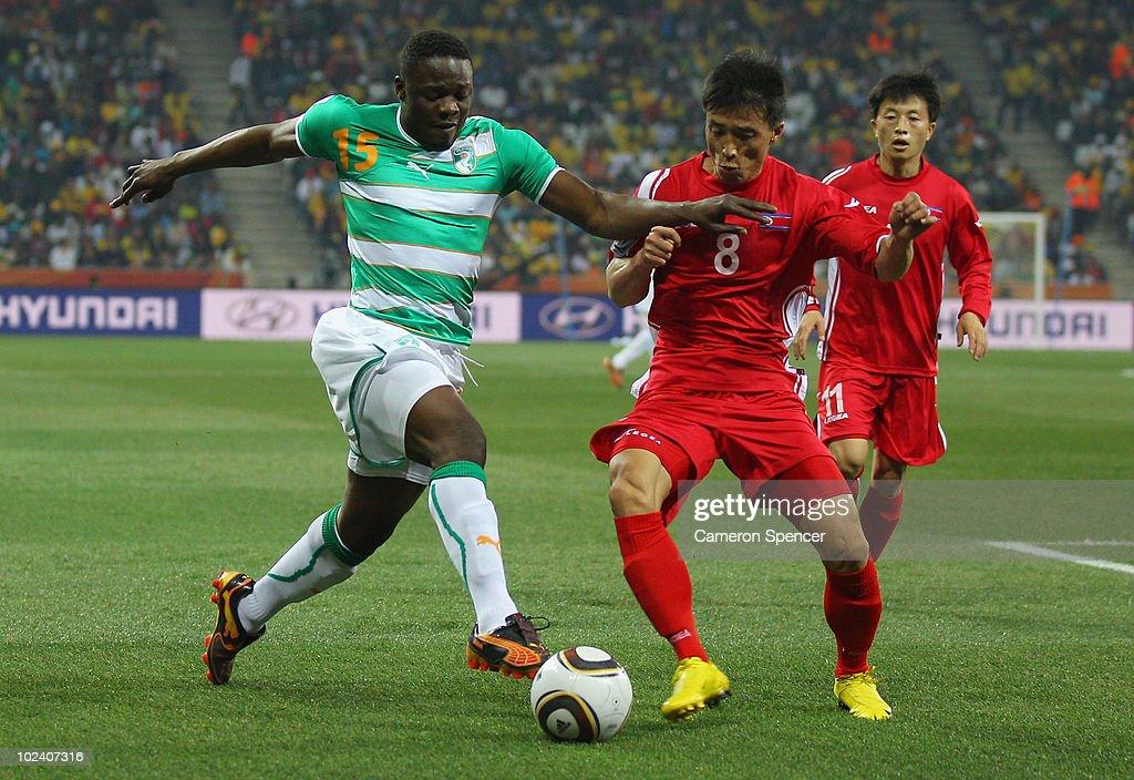 North Korea v Ivory Coast: Group G - 2010 FIFA World Cup