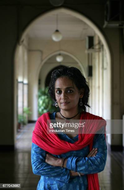 Arundhati Roy at Yatch club on Wednesday