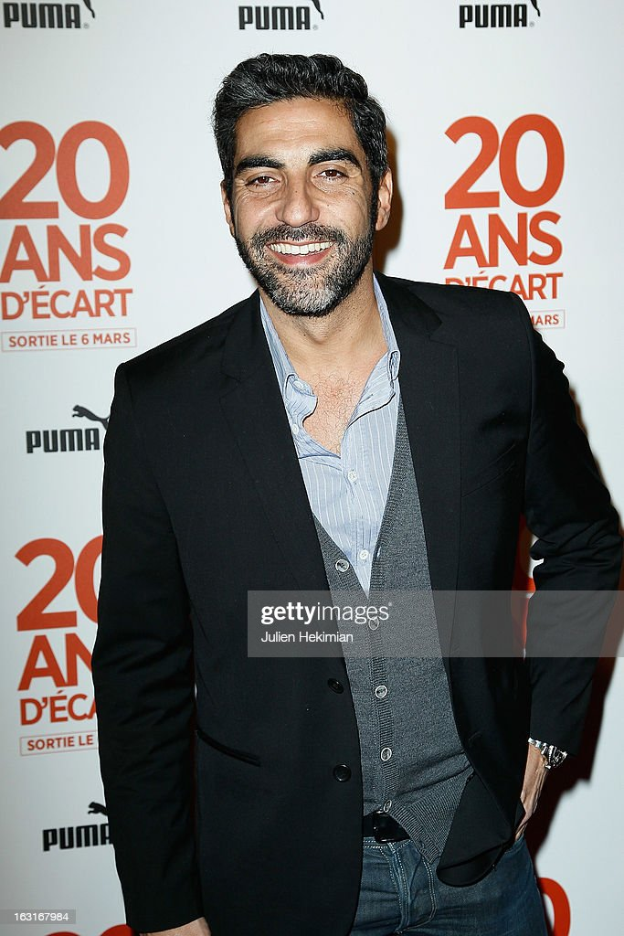 Ary Abittan attends '20 Ans D'Ecart' Premiere at Gaumont Capucines on March 5, 2013 in Paris, France.