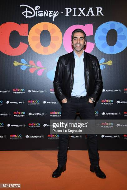 Ary Abittan attends the 'Coco' Paris Special Screening at Le Grand Rex on November 14 2017 in Paris France
