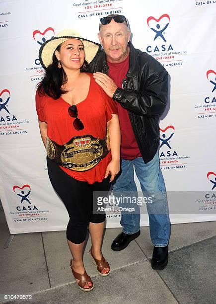 Arzo Yusuf and actor Al Burke participate in the 2016 Justice Jog 5K to benefit Casa LA on September 25 2016 in Los Angeles California