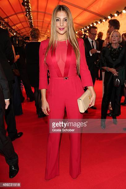 Arzu Bazman arrives at the Bambi Awards 2014 on November 13 2014 in Berlin Germany