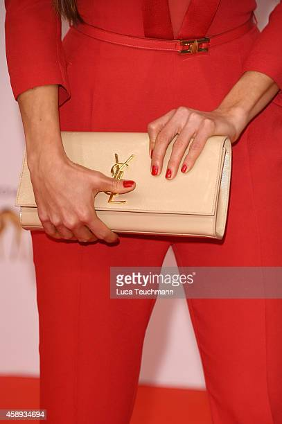 Arzu Bazman attends Kryolan at the Bambi Awards 2014 on November 13 2014 in Berlin Germany