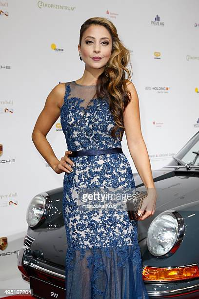 Arzu Bazman attends the Leipzig Opera Ball 2015 on October 31 2015 in Leipzig Germany