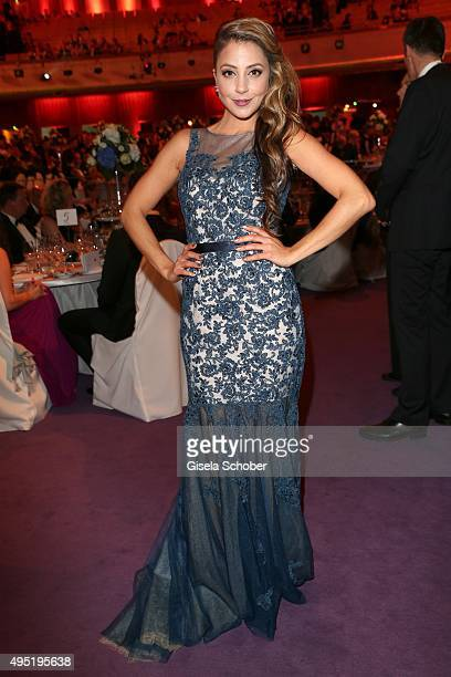 Arzu Bazman during the Leipzig Opera Ball 2015 on October 31 2015 in Leipzig Germany