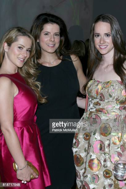 Arzu Vilek Emel Dilek and Kendall Spradley attend The YOUNG PATRONS CIRCLE of AMERICAN FRIENDS Hosts SOIREE AU LOUVRE at Payne Whitney Mansion on...