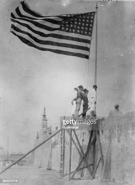 As a result of the Tampico Affair the US Military invades Mexico and raises the Flag in Vera Cruz the affair was caused by two sides not speaking the...