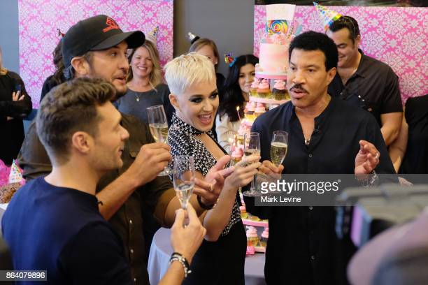 IDOL As American Idol auditions continued this week in the heart of Music City celebrity judges Luke Bryan and Lionel Richie along with host Ryan...