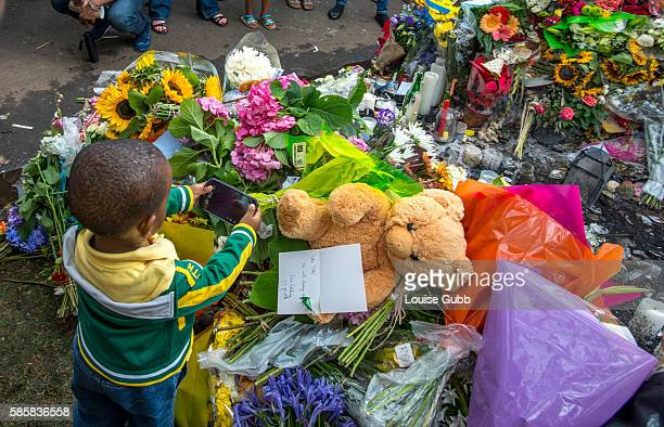 As crowds converge on Nelson Mandela's Johannesburg home in Houghton to pay their last respects to the beloved icon who passed away Thursday night a...