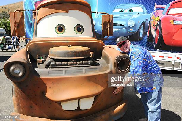 S 'CARS 2' HITS THEATERS AND THE TRACK As Disney Pixar's 'Cars 2' raced into theaters this weekend director John Lasseter hits the track along with...
