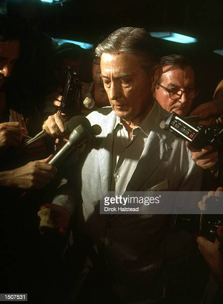 As Saigon falls to the communist rule of North Vietnamese US Ambassador to Vietnam Graham Martin speaks to the press April 29 1975 after an...