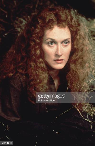 As she appears in 'The French Lieutenant's Woman' film star Meryl Streep who plays Sarah and Anna