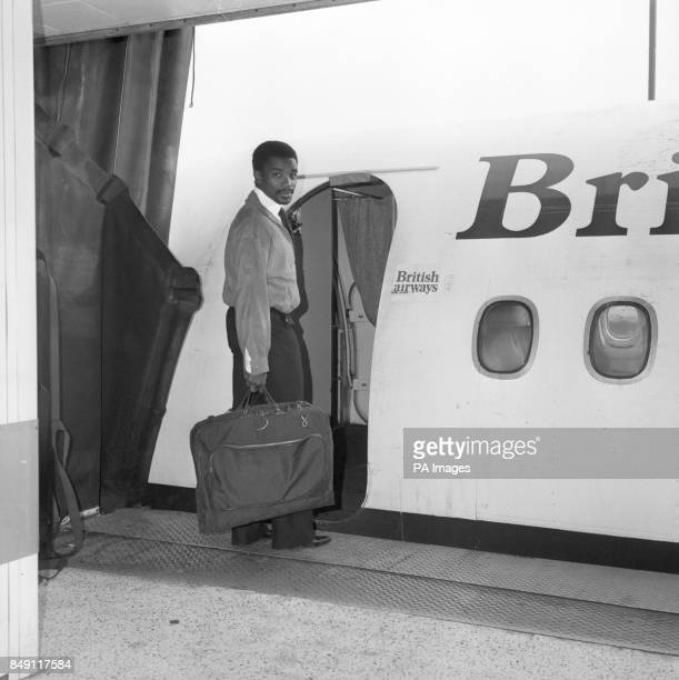 As the England squad flew out from Luton yesterday for the World Cup qualifying match against Romania Real Madrid star Laurie Cunningham missed the...