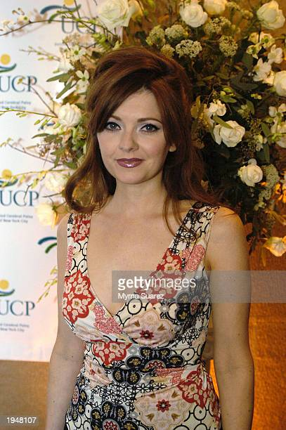 As The World Turns cast member Anne Sayre attends the 48th Annual United Cerebral Palsy Of New York City Awards Dinner April 23 2003 in New York Eden...