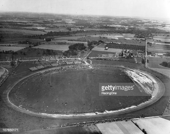 LANGHORNE PA As this aerial photo shows the Langhorne Speedway was a true oval with no actual straightaways The track was dubbed by many as ÒThe Big...