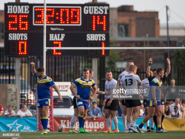 As time starts to get short Doncaster find themselves behind the home squad The Toronto Wolfpack 2nd half action as they host the final home game of...
