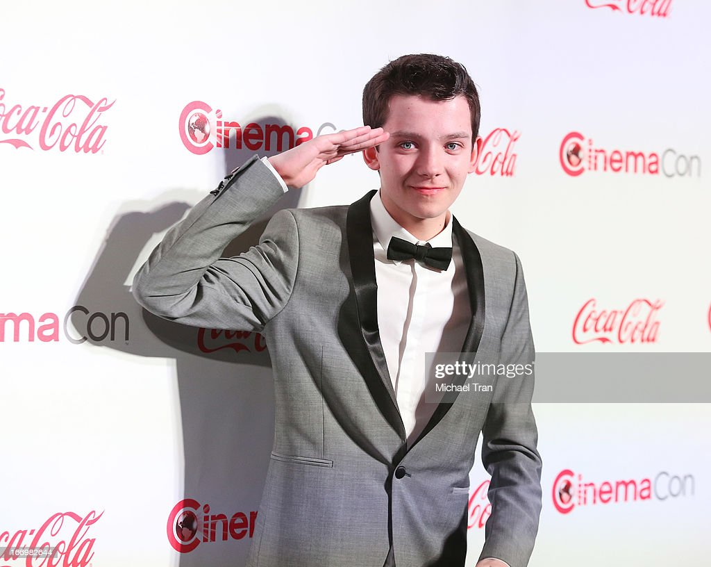 <a gi-track='captionPersonalityLinkClicked' href=/galleries/search?phrase=Asa+Butterfield&family=editorial&specificpeople=5523693 ng-click='$event.stopPropagation()'>Asa Butterfield</a> arrives at the CinemaCon 2013 Big Screen Achievement Awards held at Caesars Palace during CinemaCon, the official convention of the National Association of Theatre Owners on April 18, 2013 in Las Vegas, Nevada.