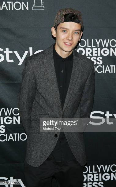 Asa Butterfield arrives at the HFPA InStyle's 2014 TIFF Celebration held during the 2014 Toronto International Film Festival on September 6 2014 in...
