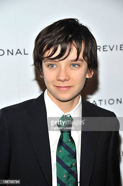 Asa Butterfield attends the 2011 National Board of Review Awards gala at Cipriani 42nd Street on January 10 2012 in New York City