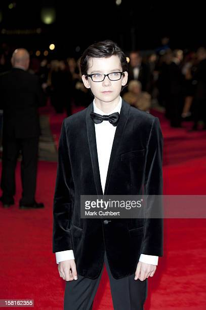Asa Butterfield Attends The Royal Film Premiere Of 'Hugo' At The Odeon Leicester Square In London