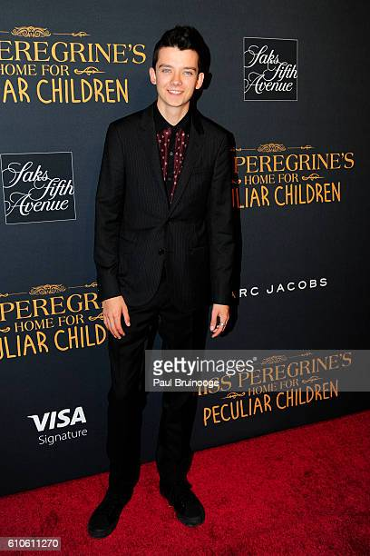 Asa Butterfield attends the Twentieth Century Fox Saks Fifth Avenue and Visa Signature Present 'Miss Peregrine's Home for Peculiar Children' at Saks...