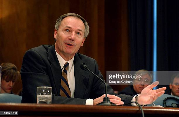 Asa Hutchinson undersecretary for border and transportation security Homeland Security Department during the full committee hearing on 'Cargo...