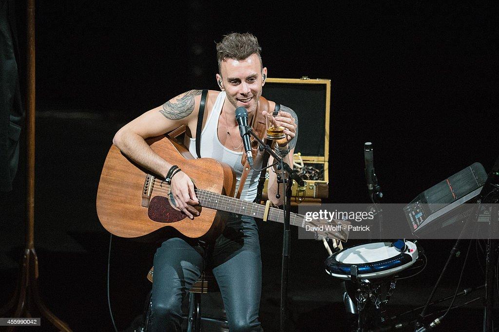 Asaf Avidan performs at Folies Bergeres on September 23, 2014 in Paris, France.