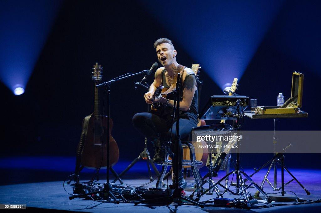 Asaf Avidan  Performs At Palais Garnier  In Paris