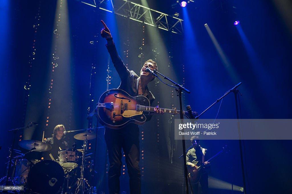 Asaf Avidan Performs At Zenith In Paris