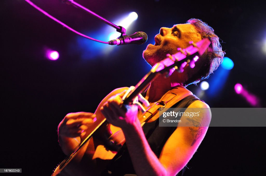 <a gi-track='captionPersonalityLinkClicked' href=/galleries/search?phrase=Asaf+Avidan&family=editorial&specificpeople=6824137 ng-click='$event.stopPropagation()'>Asaf Avidan</a> performs on stage at Shepherds Bush Empire on November 12, 2013 in London, United Kingdom.